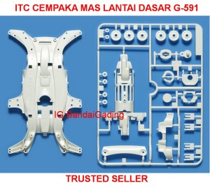 MA Reinforced Chassis (White) by  Tamiya