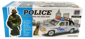 MAINAN ANAK POLISI - POLICE RADAR ANTENA - 2088-2 - BERJALAN BUMP & GO
