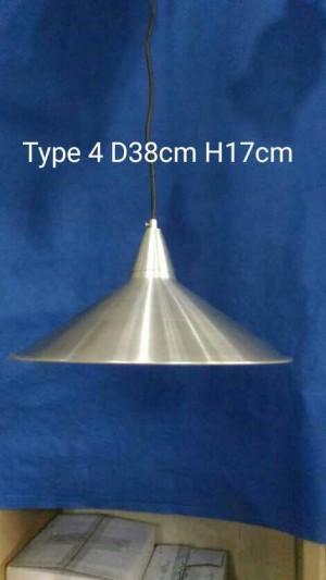 Lampu Minimalis Hias Gantung Stainles D38 H17 Type 4
