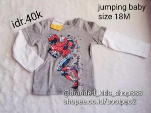jumping beans jumping baby baju bayi lengan panjang kids branded