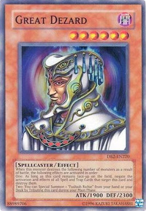 Kartu Yugioh  Great Dezard [Super Rare]