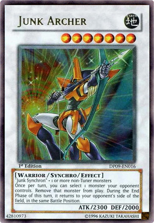 Kartu Yugioh Junk Archer [Ultra Rare]