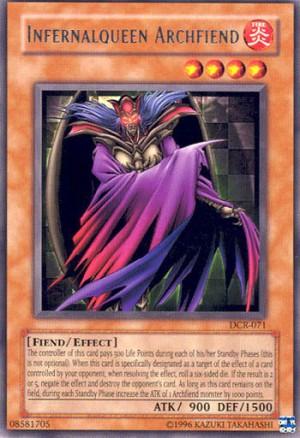 Kartu Yugioh Infernalqueen Archfiend [Rare]
