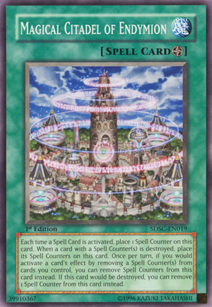 Kartu Yugioh Magical Citadel of Endymion [Common]