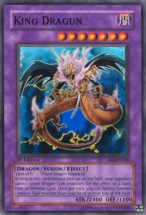 Kartu Yugioh King Dragun [Super Rare]