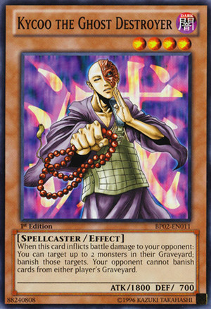 Kartu Yugioh Kycoo the Ghost Destroyer [Common]