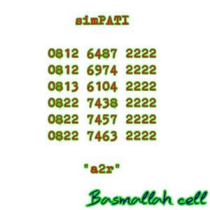 Nomer Cantik Nomor Simpati Seri Kuartet Rapi Lengkap Terbaik 2222 #CS6