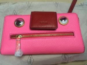Ready tab wallet neon pink