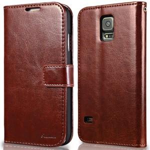 Luxury Wallet Leather Case Samsung Galaxy S5