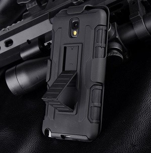 Samsung Galaxy Note 3 N9000 Bumper Armor Dual Layer Full Protection