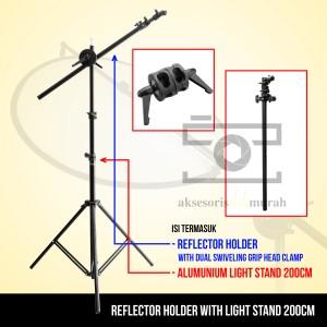 Paket Reflector Holder with LS 200cm