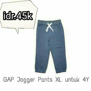 celana joger jogger gap babygap oroginal branded kids pants boy