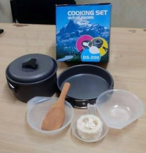 ... Cooking Set DS 200 Nesting DS200 Alat Masak Outdoor Camping