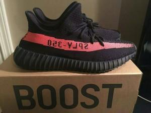 sale retailer d9db8 38211 ... SEPATU ADIDAS YEEZY BOOST 350 V2 UA PK VERSION MIRROR BLACK RED . ...