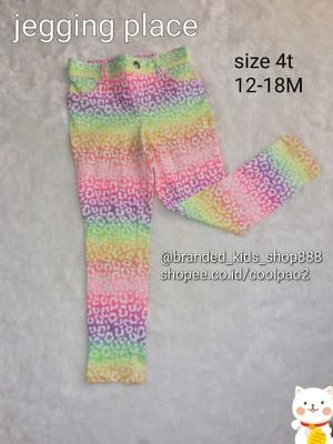 jegging jeging anak kids girl children place rainbow branded ori