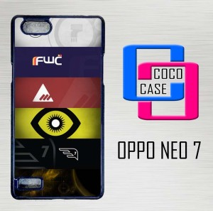 Casing Hardcase Hp Oppo Neo 7 Bungies Destiny 5 Factions X4374
