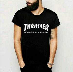 T - Shirt Distro   Kaos Thrasher Skaterboard Magazine   Kaos Pria
