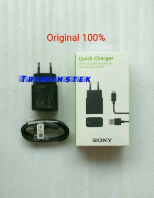SONY Quick Fast Charger UCH-10 Original 100%