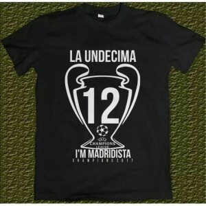 T - Shirt Distro | Kaos La Undecima 12 Real Madrid | Kaos Keren