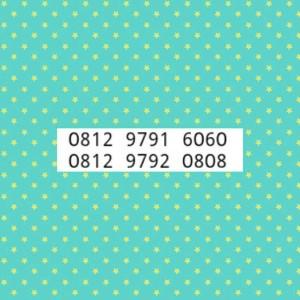 NomorCantik simPATi-Tsel-DoubleAB-0812 9791 6060 & 9792 0808-LK7-511