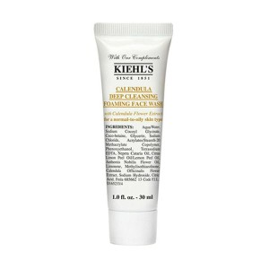 Kiehls Calendula Deep Cleansing Foaming Facial Wash - 30 ml