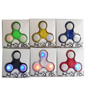FIDGET HAND SPINNER LAMPU LED Fidget Spinner Lampu led Termurah