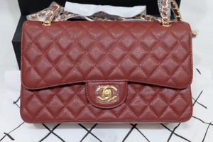 Chanel Classic Caviar Double Flap Bag
