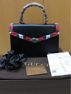 Gucci Lilith Bamboo Handle Bag