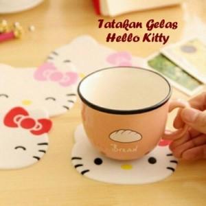 Jual Tatakan Gelas Hello Kitty [ Anti Slip, Cute, Murah ] 04.