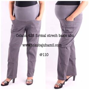 hmill celana fomal strech 428 abu