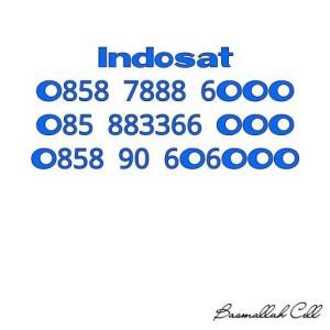 Nomor Cantik Mentari Seri Triple 888 6000 Rapih .LR6