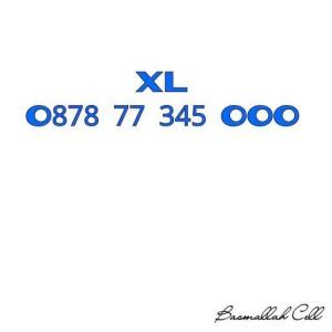 Nomor Cantik XL Seri Triple O878 77 345 OOO Urut Naik Rapih .LR6