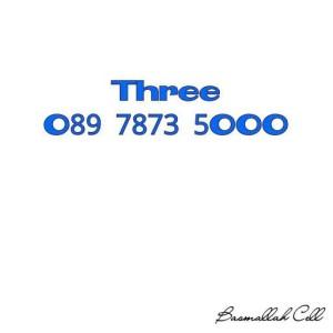 Nomor Cantik Three Seri Triple O89 7873 5OOO Rapih Murah .LR6