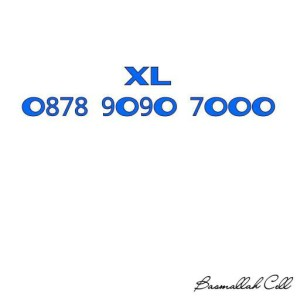 Nomor Cantik XL Seri Triple O878 9O9O 7OOO ABAB Rapih .LR6