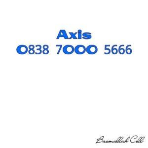 Nomor Cantik Axis Seri Double Triple O838 7OOO 5666 Rapih Murah .LR6