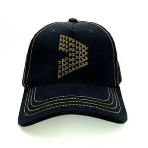 Topi / Hat Kalibre Topi Studs Duri Baseball Studded Cap Hitam Kuning
