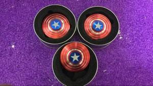 Fidget Spinner Model Captain Amerika / Spiner Hand Toys Kapten Amerika