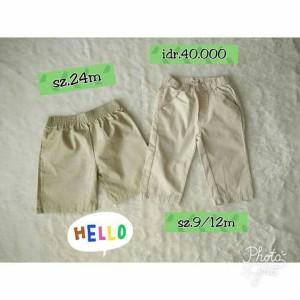 celana pendek anak bayi baby branded kids pants circo original