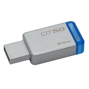 Flashdisk Kingston 64GB DataTraveler 50 USB 3.1 110MB/S - DT50 BIRU