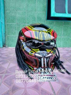 Jual Helm Predator Model Taring