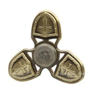 Fidget Spinner Premium Titanium Alloy Perisai Castle Gold