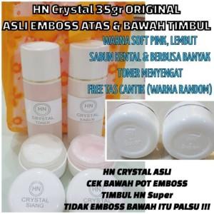 HN Crystal 35gr Emboss Atas dan Bawah   HN Crystal Original BESAR