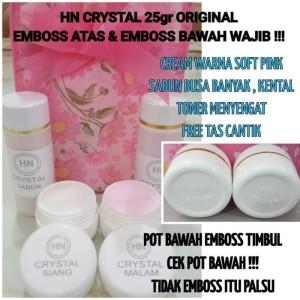 HN Crystal 15gr Emboss atas dan bawah  HN Crystal paket kecil original