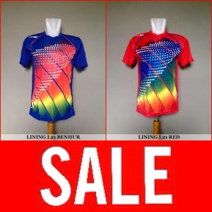 Baju Kaos Badminton / Bulutangkis Lining L21