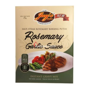 Saus Steak Rosemary Instan Jay's Instant Gravy Mix Rosemary Garlc Sauc