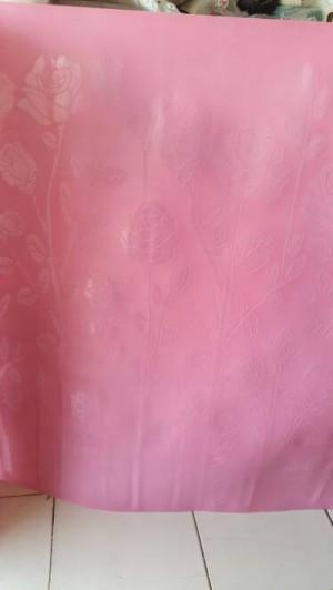 harga Fiber pagar Pink fiber plastik penutup pintu pagar motif bunga Tokopedia.com