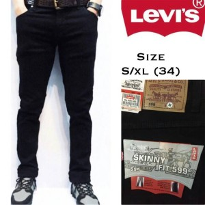 Celana Jeans Skinny Hitam