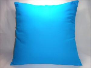 Sarung Bantal Sofa Polos 40 x 40 cm Biru Toska Bahan Kain Katun 0014
