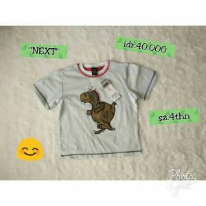 next kids tee kaos anak cowo branded boy
