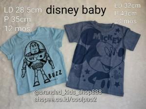 kaos anak baby bayi disney original branded junior